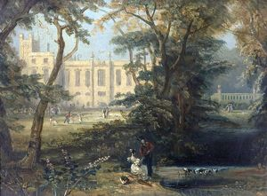 Newstead Abbey, Nottinghamshire, from the South - Unknown Artist