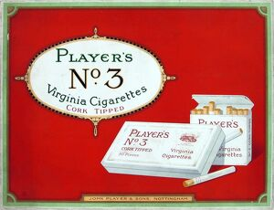 No. 3 cigarettes, 1923=24
