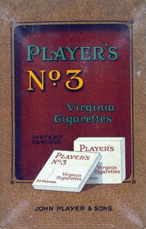 No. 3 cigarettes, 1923=25