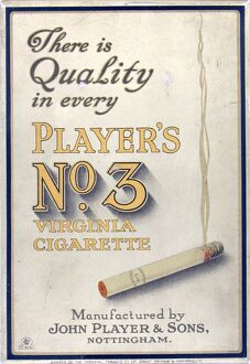 No. 3 cigarettes, 1924=25