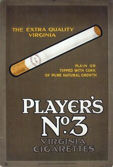 No. 3 cigarettes, 1926