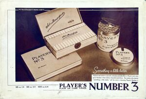 No. 3 cigarettes, 1928