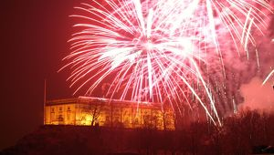 Nottingham Castle, Bonfire night