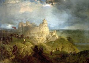Nottingham Castle (King Charles I Raising His Standard, 24 August 1642)
