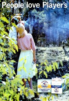 People love Player's: In the Glade, 1961