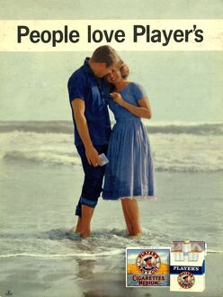 People love Player's: Paddle in Sea, 1961