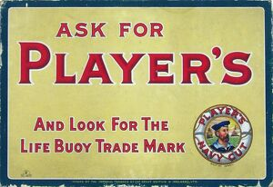 Player's, 1921=23