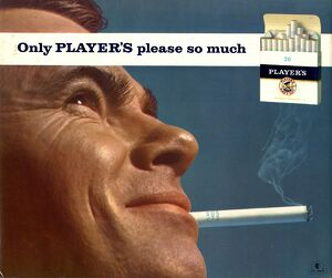 Only Player's please so much, 1967