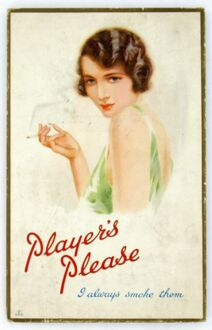 Player's Please, 1927=28