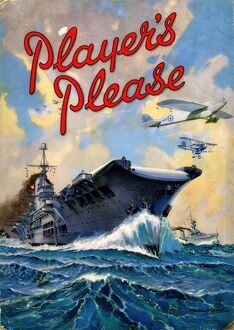 Player's Please: Aircraft carrier, 1946