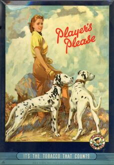 Player's Please: Dalmatians, 1950