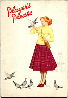Player's Please: Pigeons, 1952