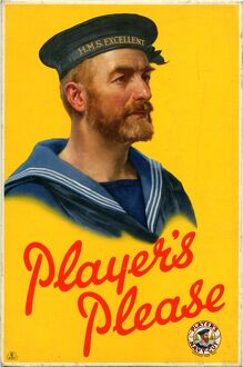 Player's Please: Sailor, 1955