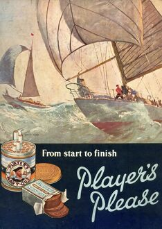 Player's Please: From start to finish, 1957