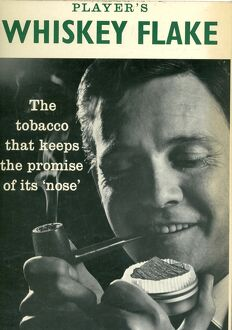 Player's Whiskey Flake, The tobacco that keeps the promise of its 'nose&#39