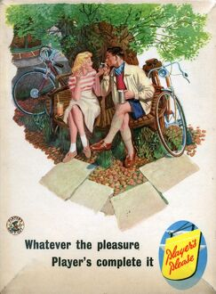 Whatever the pleasure: Cycling, 1955