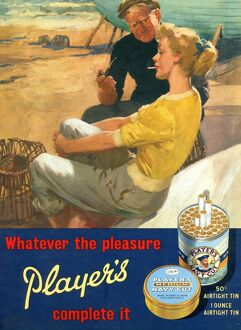 Whatever the pleasure, Player's complete it, 1959