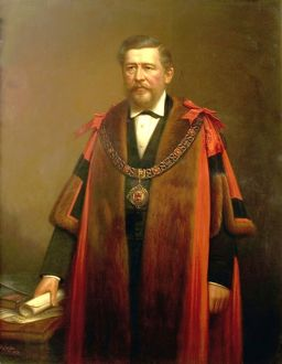 Portrait of Alderman William George Ward, by Sylvanus Redgate