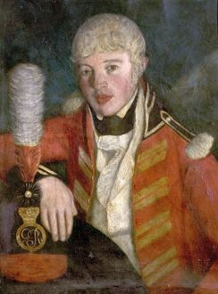 Portrait of an Officer (probably Major William Wylde, 1803-1808, OC, Southwell Volunteer