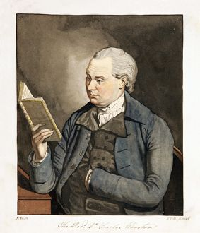 The Revd. Dr. Charles Wharton aka Portrait of Revd