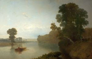 The River Trent at Wilford - Henry Dawson
