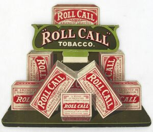 Roll Call Tobacco, 1920