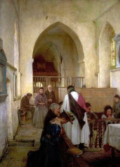 Sacrament Sunday - William Teulon Blandford Fletcher