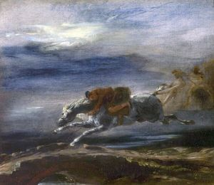 Tam O'Shanter (after the poem by Robert Burns) - Eugene Delacroix