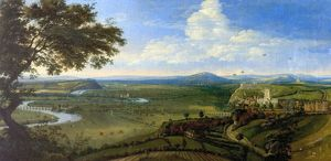 View of Nottingham from the East - Jan Siberechts (attributed to)