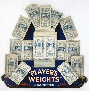 Weights Cigarettes, 1921