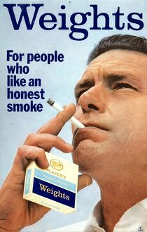 Weights, For people who like an honest smoke, 1967