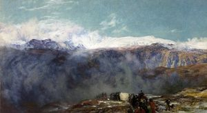 A Welsh Funeral (To the Cold Earth) - Henry Clarence Whaite