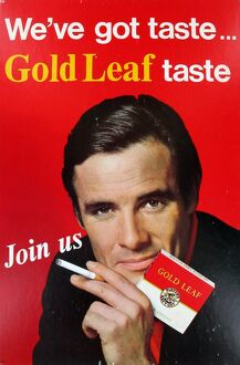 We've got taste, Gold leaf taste, Join us, 1966