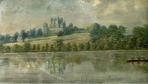 Wollaton Hall, Nottingham, from the Lake - Unknown Artist