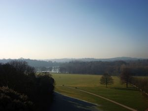 Wollaton Hall park