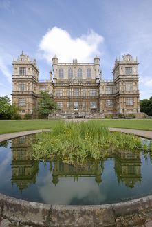 Wollaton Hall with pond